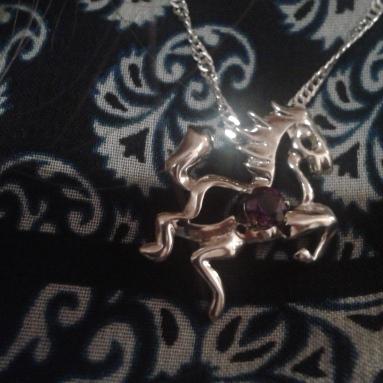 Got to wear my new necklace Dean got me ^_^