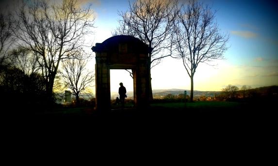 Sunset in Norfolk Park