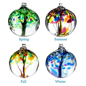 seasons globes